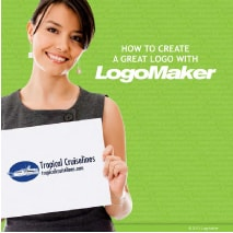 how to create a logo with LogoMaker