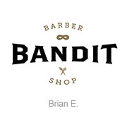 Bandit Barber Shop logo