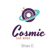 Cosmic Car Wash logo