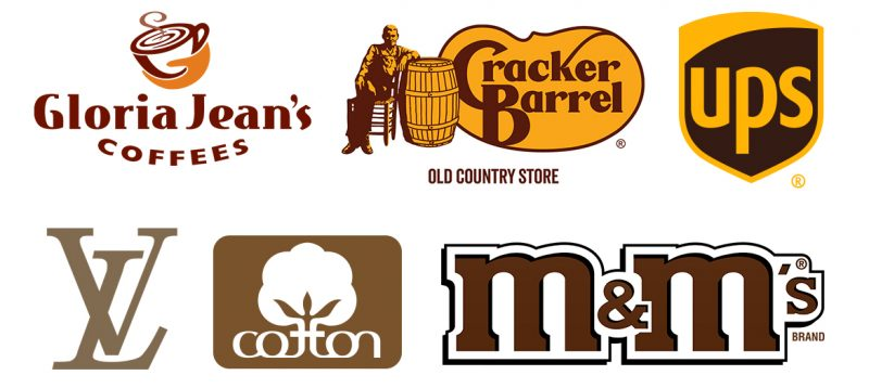 examples of brown logos