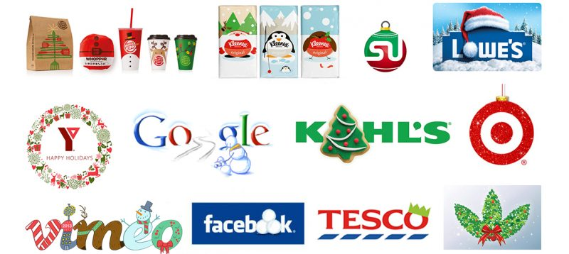 corporate holiday logo examples