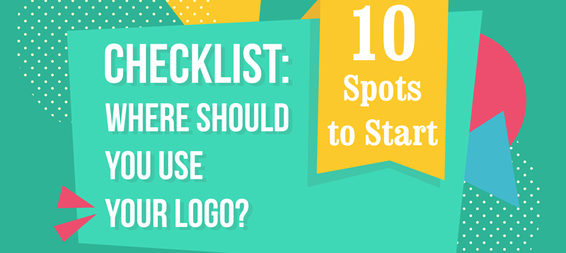 where to use your logo