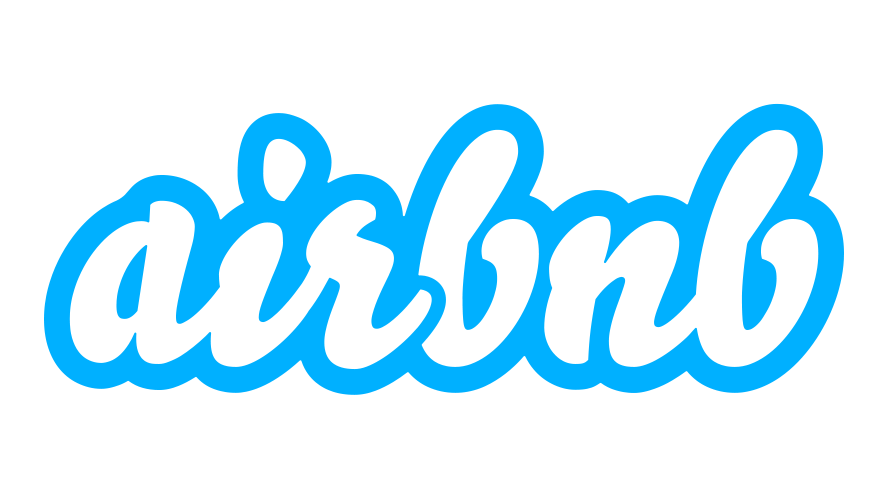 Airbnb Scripted Text Based Logo Design