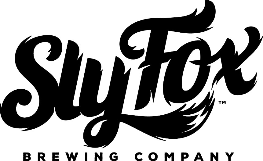 Sly Fox Brewing Scripted Text Logo Design