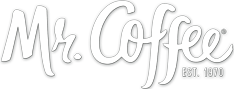 Mr. Coffee Scripted Text Logo Design