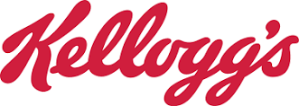 Kellogs Scripted Text Logo Design