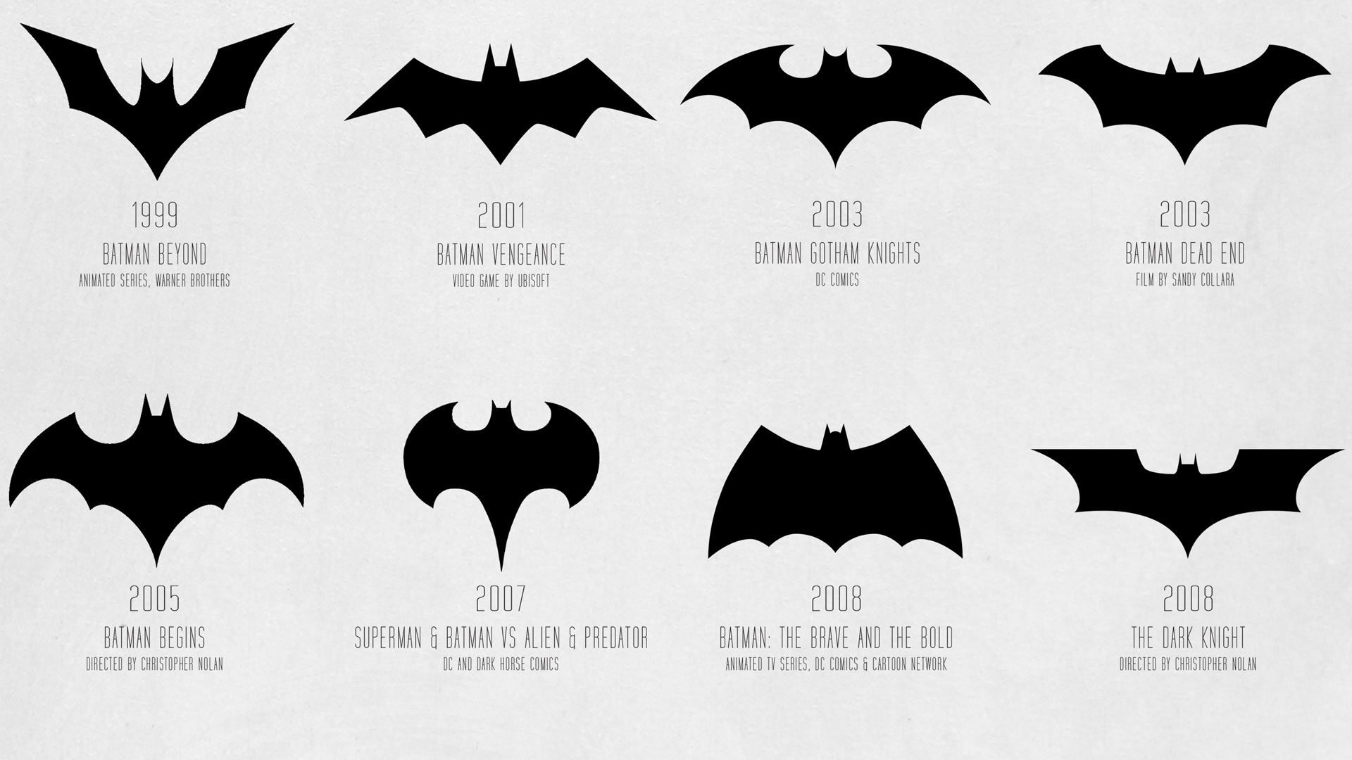Superhero Logo Designs Their Logo Design Elements