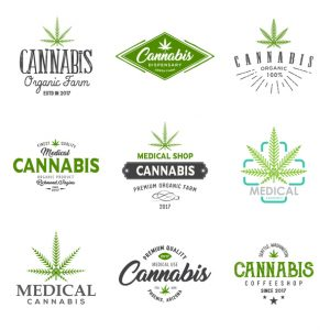 medical marijuana logo examples