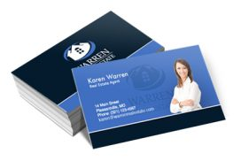 custom business cards with logo