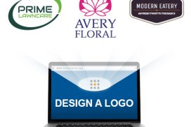 business logo on website