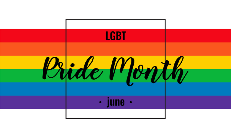 Pride month background