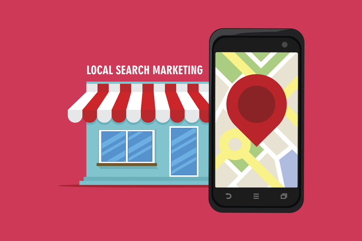 local search marketing ecommerce with shop